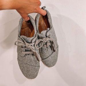 TOMS del rey gray sneakers